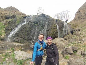 Shaki Wasserfall Trailrunning