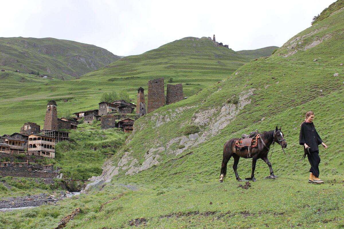 Wanderreiten in Tuschetien