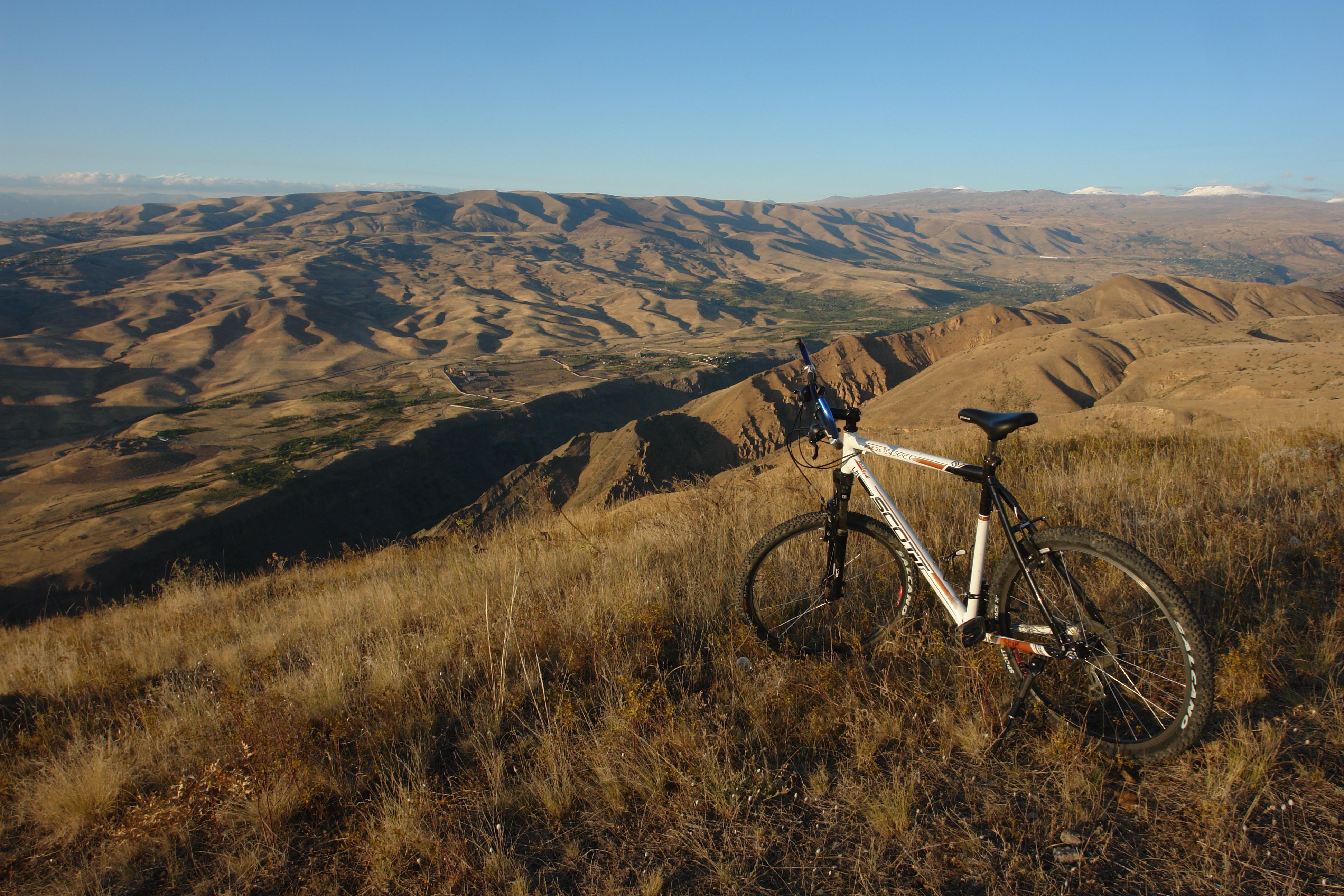 Mountainbike Tour Pause